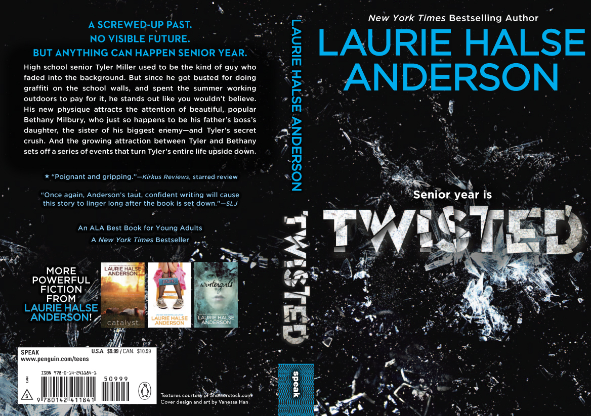 TWISTED News! – Laurie Halse Anderson